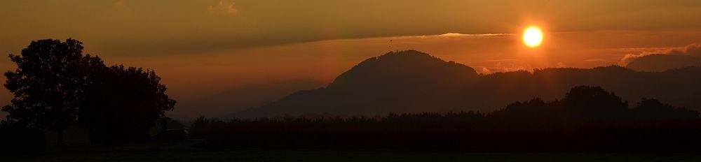 Rechberg - sunrise