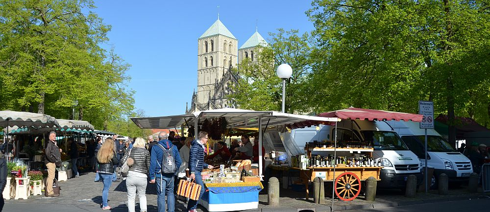 Farmer's market in Münster