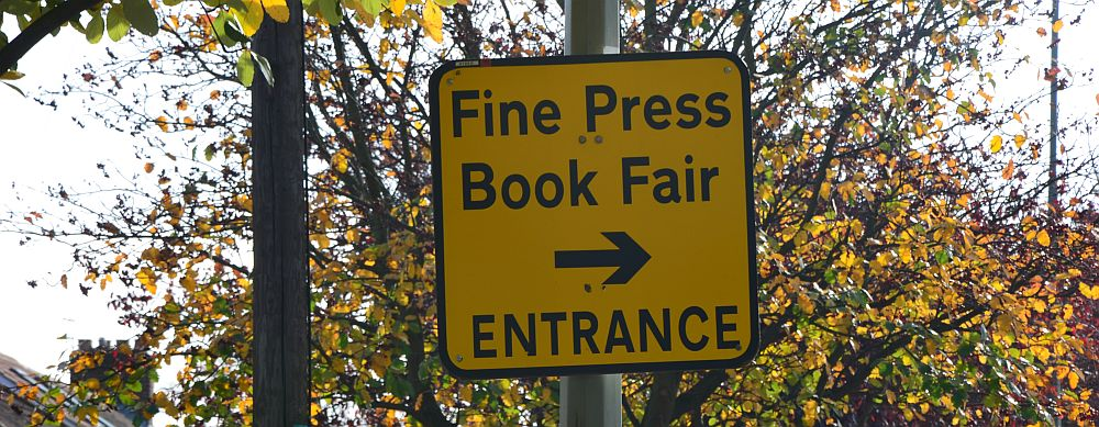 The Fine Press Book Fair at Brookes University, Oxford (UK)