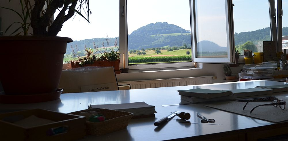 Hohenstaufen from the workplace
