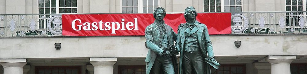 Weimar: Goethe and Schiller