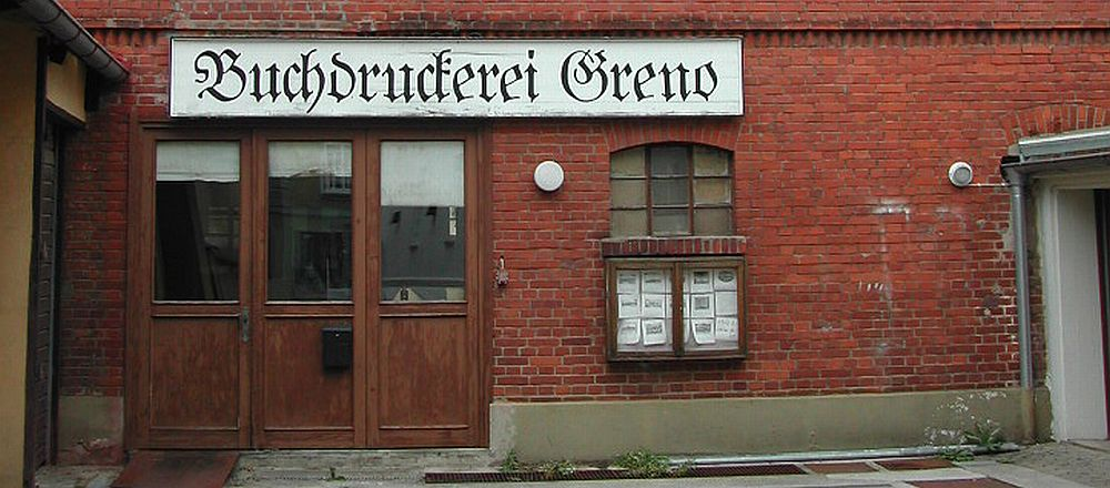 Greno printing office in Noerdlingen