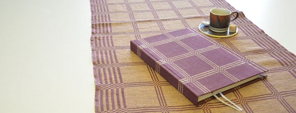 Book for recipes - towel linen