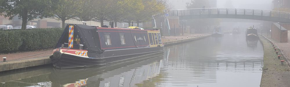 Narrowboats in Banbury