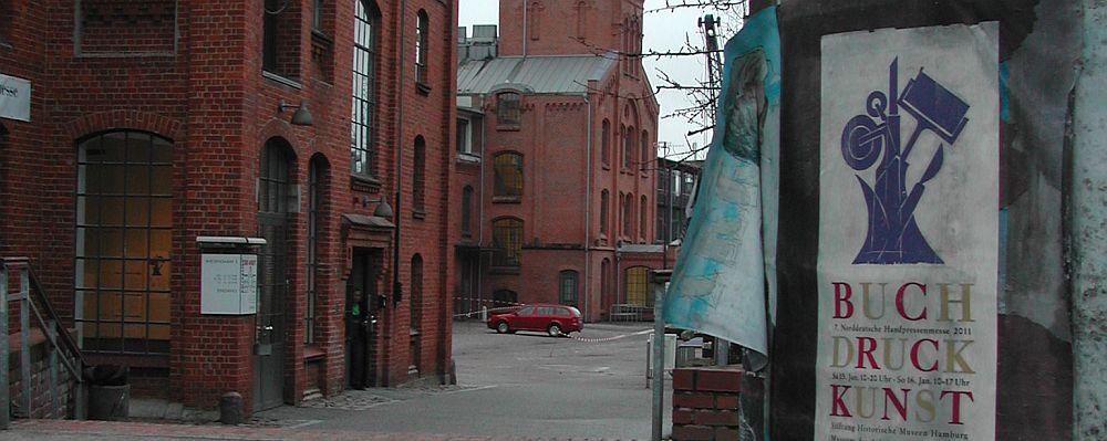 """Museum der Arbeit, Hamburg Barmek - venue of """"Norddeutsche Handpressenmesse"""""""