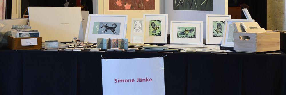Simone Jänke at Norddeutsche Handpressenmesse, 2016