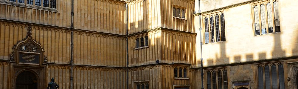 The Bodleian Library, Oxford (UK)