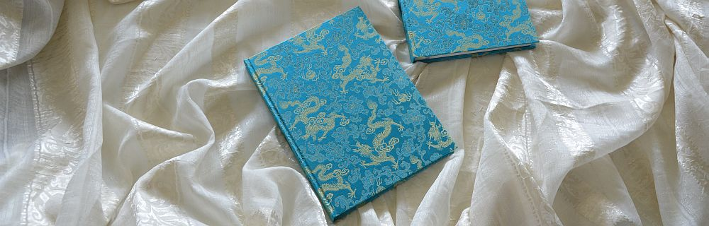 Cover made from brocade
