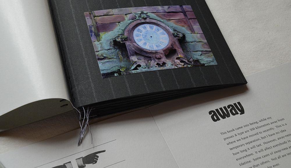 Artist's Book: away